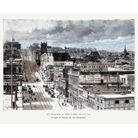The Picturalist Framed Print on Rag Paper: San Francisco at the Turn of the Century