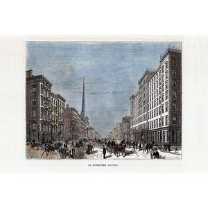 Print on Paper US250 - Fifth Avenue 1912