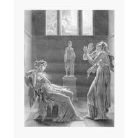 Framed Print on Rag Paper: Phedra