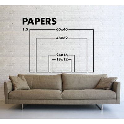 Print on Paper US250 - Amazonomachy Monochrome