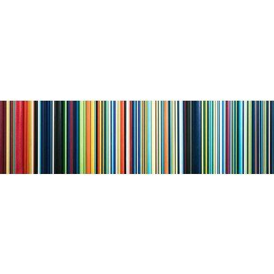 Framed Print on Rag Paper: Gradient 5 by E. Blithe