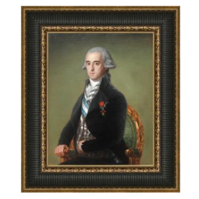 Stretched Canvas 1.5 - Portrait of the Duke of Alba by Goya