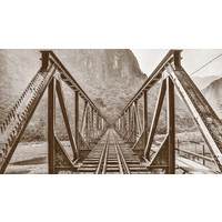 Stretched Canvas 1.5 - Railroad Bridge