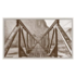 The Picturalist Framed Print on Canvas: Railroad Bridge by C. Burns