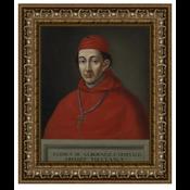 Stretched Canvas 1.5 - Portrait of Cardinal Albornoz from Toledo by Matias Moreno