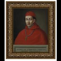 Stretched Canvas 1.5 - Portrait of Cardinal Albornoz