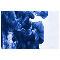 Framed Print on Rag Paper Aqua Quench