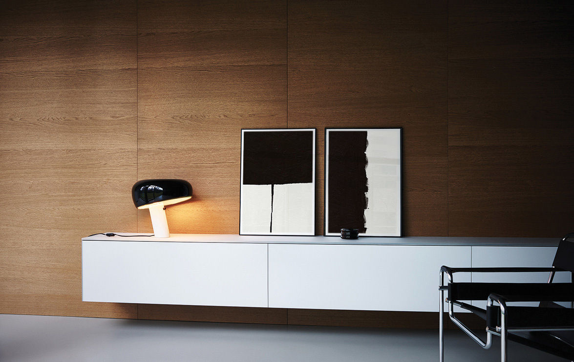 The ideal art choice for Mid-Century Modern spaces