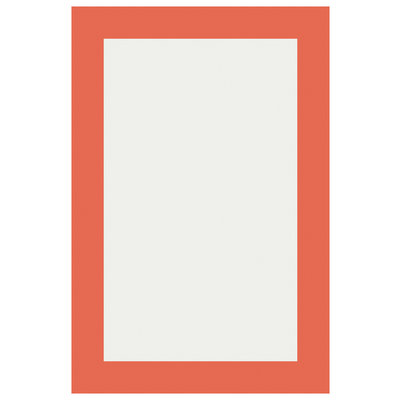 Framed Print on Rag Paper Orange Void by Alejandro Franseschini