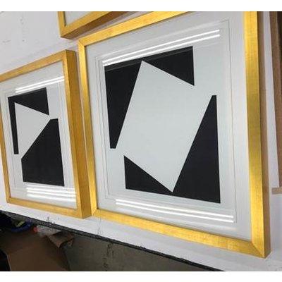 Framed Print on Rag Paper: Moderna 1 by Alejandro Franseschini