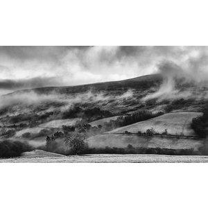 Framed Facemount Acrylic English Countryside