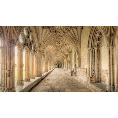 Facemount Acrylic: Winchester Cathedral by M. D. Beckwith Hendry  Facemount Acrylic