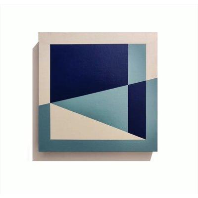 Framed Print on Canvas: Assembly 02 by Rodrigo Martin