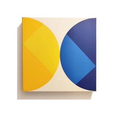 Stretched Canvas 1.5 - Broken Square 03 by Rodrigo Martin