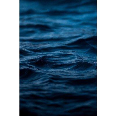 Framed Print on Rag Paper: Mykonos Blue by B. Graham