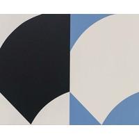 Framed Print on Canvas: Double Curve