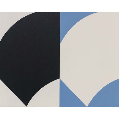 The Picturalist Framed Print on Canvas: Double Curve by Rodrigo Martin