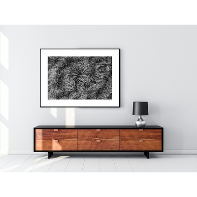 The Picturalist Framed Print on Rag Paper: Textura de Fondo by Enric Gener