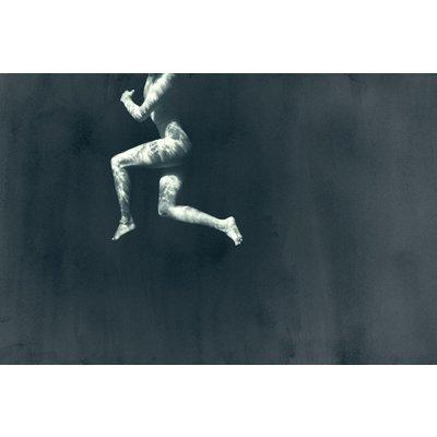 Framed Print on Rag Paper: Cadena by Enric Gener