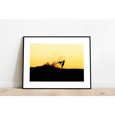 The Picturalist Framed Print on Rag Paper: Surfista by Enric Gener