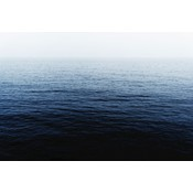 Framed Print on Rag Paper: Balearic Blue by Enric Gener