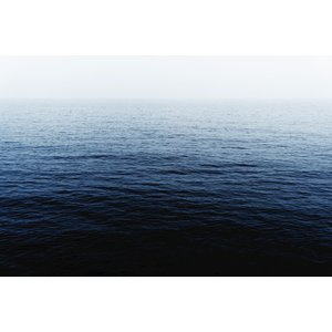 The Picturalist Framed Print on Rag Paper: Balearic Blue