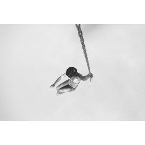 Framed Print on Rag Paper Swing by Enric Gener