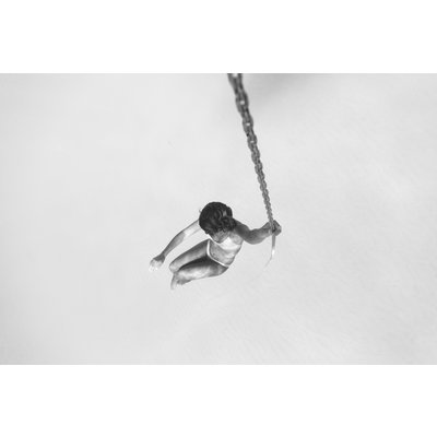 Framed Print on Rag Paper Swing by Enric Gener