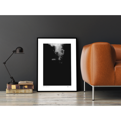 The Picturalist Framed Print on Rag Paper: Glitter by Enric Gener