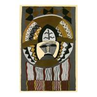 Framed Print on Rag Paper: African Mask