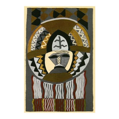 The Picturalist Framed Print on Rag Paper: African Mask by Edouard Benedictus