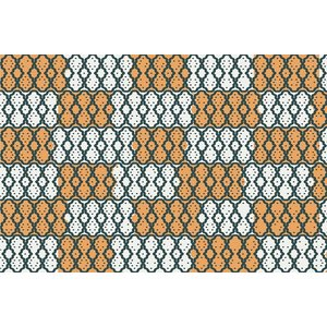 Framed Print on Rag Paper African Textiles from Uganda