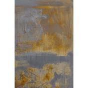 "Framed Print on Canvas ""Cartografia"" by Evelyn Ogly Canvas"