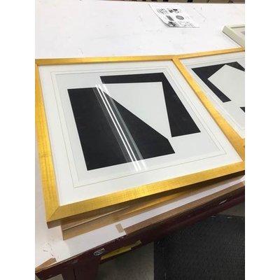 Framed Print on Rag Paper: Moderna 3 by Alejandro Franseschini