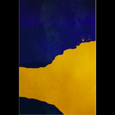 Framed Print on Rag Paper: Disparity by Alejandro Franseschini