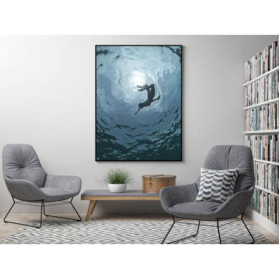 The Picturalist Framed Print on Rag Paper: Rotation by Enric Gener