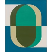 Stretched Canvas 1.5 - Pill 02 by Rodrigo Martin