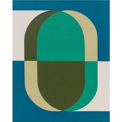 Canvas Framed Inside a Shadow Box Pill 02 by Rodrigo Martin