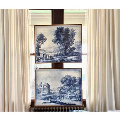 Framed Print on Canvas: Pastoral 1 from the collection of The Duke of Devonshire