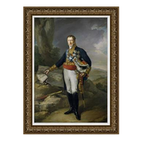 The Picturalist Framed Print on Canvas: Portrait of the Marquis de Villafranca