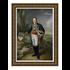The Picturalist Framed Print on Canvas: Portrait of the Marquis de Villafranca