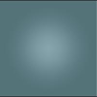 Framed Facemount Acrylic Cornflower Halo