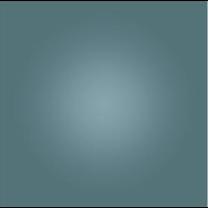 The Picturalist Facemount Acrylic: Cornflower Halo
