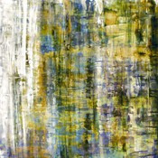 The Picturalist Framed Print on Canvas: Graffitti Blur 2 by Julia Di Sano