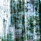 The Picturalist Framed Print on Canvas: Graffitti Blur 6 by Julia Di Sano