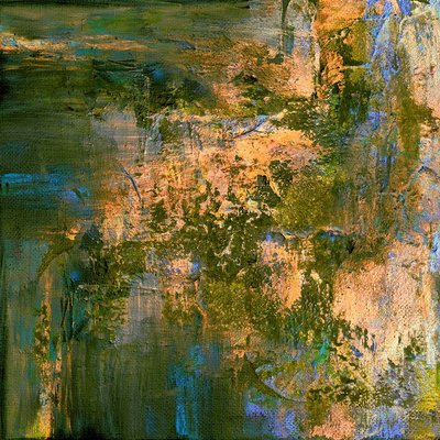 Framed Print on Canvas Exhale by Julia Di Sano