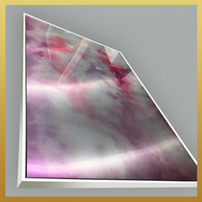 The Picturalist Framed Facemount Metal: Infinite Arc by Julia Di Sano