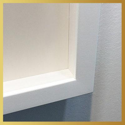 Framed Print on Rag Paper: Perspective V by H. Veir