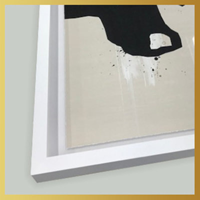 Framed Print on Rag Paper: Yes or No by Alejandro Franseschini