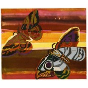 The Picturalist Framed Print on Rag Paper: Butterflies by Benedictus